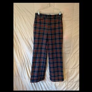 Chaps Vintage wool high waisted multicoloredpants